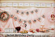 Birthday Theme: Ballet!