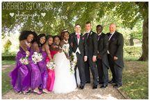 Gisborough Hall Hotel Wedding - Jen and Paul / Images from Jen and Paul's Gisborough Hall Hotel Wedding in the summer   #GisboroughHall #Wedding Vibrant colour with #purple #bridesmaids