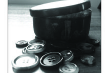 "Button Tins / ""...There is something of goodbye in the jar, in the tin, once the spare button goes in."" ~ from Button Tin (a valediction), Spare Buttons, Finishing Line Press"