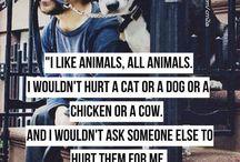 Being a vegetarian/vegan