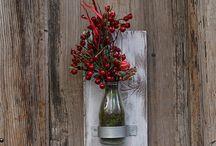 şişe vazo