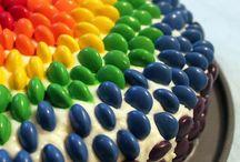 Birthday Cakes & Food