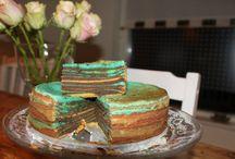 Desserts and Cakes / Mooie taarten leuke nagerechten die ik zelf heb gemaakt