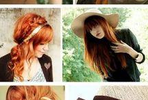 beautifull red hair
