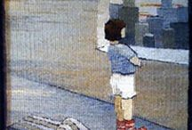 Sarah C. Swett tapestry