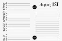 weekly menu printable free