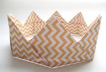 Origami-Krone