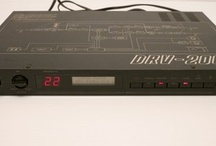 Vintage Digital reverbs / 1980's early digital reverb and delay effects machines.