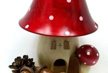 Mushroom Collectibles / Cool products resembling MUSHROOMS.