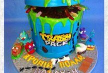 Trashpack cake