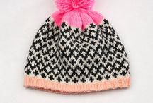 Knitting hats / Hand knit hats and hat patterns.