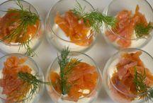 Antipasti al salmone