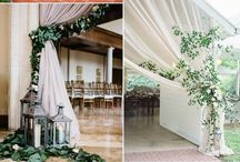 Wedding curtain
