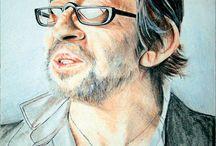 Serge-Gainsbourg / Portrait de stars