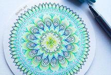 Doodling/mandalas