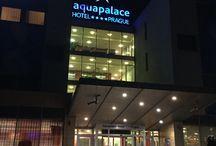 Prag / Aquaplace Hotel, Wasserpark bei Prag, Städtetour mit Kind,