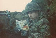 Falklands war.