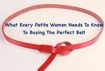Petite Women:  Fashion Tips