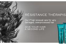 #KerastaseTransforms / Check out the new Kerastase Resistance Therapiste line from Kerastase USA.