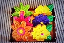 Flower Shaped Cookies