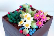 Tarta maceta floral / www.memcakesandcookies.com