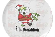 Funny Zombie Christmas Santa Products / Funny Zombie Santa Claus tat ready to be customized to your specifics.
