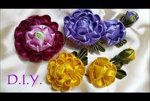 Flores artesanais variadas