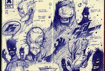 2d - sketches
