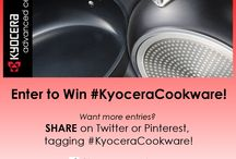 #KyoceraCookware Giveaway / Enter to win #KyoceraCookware. Simply fill out the linked entry form and share the images with the hashtag #KyoceraCookware for an extra entry.