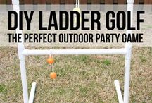 Outdoor games diy