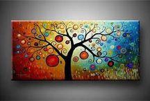 Maľby Na Plátne