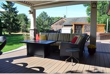 Stoney Creek: South-West contemporary deck