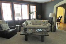 Family Room / Stephanie K Mader Designs / by Stephanie Mader