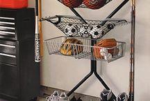 Storage/organization/garage / by Linda Lavigne