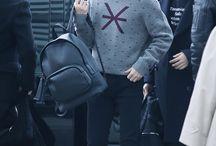 TaeTae : Airport Fashion