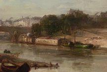 JONGKIND - Détails / +++ MORE DETAILS OF ARTWORKS : https://www.flickr.com/photos/144232185@N03/collections