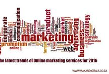 The latest trends of Online marketing services in Johannesburg