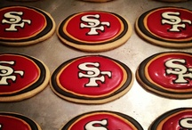 49ers Tailgates / Red and gold treats perfect for gameday!