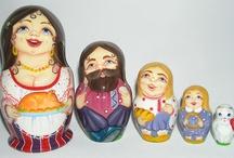 Nesting / Matryoshka Dolls / by Stella Causey