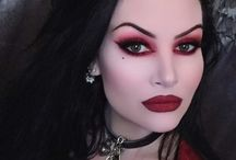 Vámpír makeup