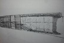 draws and sketches / ideas de arquitectura