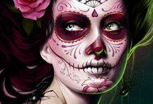 Makeup - Sugarskulls