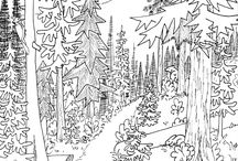 Nature Coloring Pages / Download free printable nature coloring pages