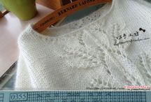 bluze tricotate si croşetate