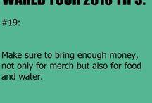 warped tour tips