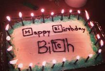 B'day cakes