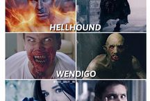 supernatural and teen wolf