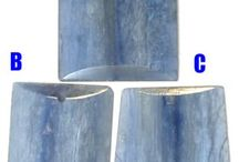 Kyanite gemstone beads / High quality Kyanite gemstone beads, pendant focal beads and Kyanite chip beads and kyanite cabochons at www.StonesNSilver.com.   Let our Gemstones, turquoise and Coral beads set your Jewelry Designs Apart from all the rest!