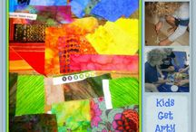 kids get arty / by Angie Barrick