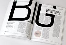 book/magazine layout